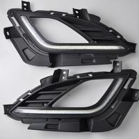 High Quality LED Daytime Running Lights Fog Lights For Hyundai Elantra Daytime Running Lights With Yellow