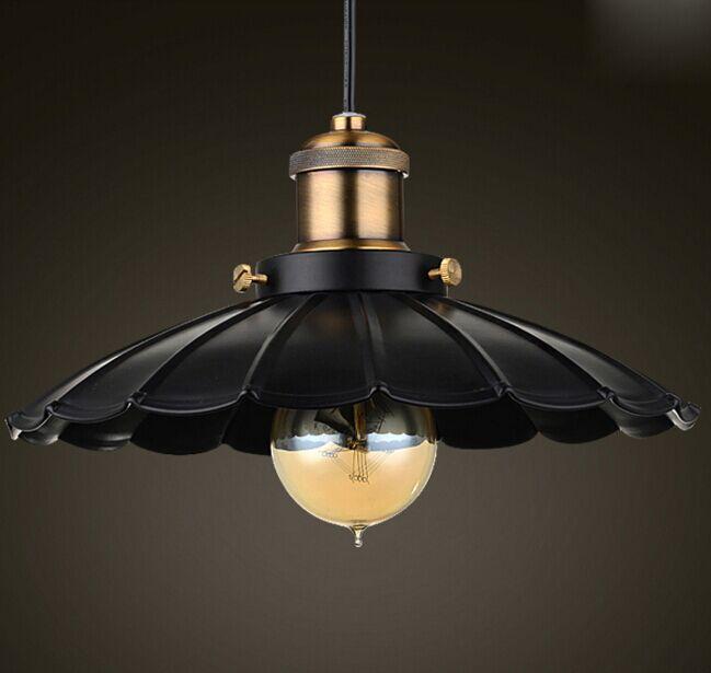 Edison Retro Pendant Light Industrial Loft Lamp Vintage for Restaurant Decor D25cm H100cm Free Shipping C GLT2013