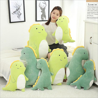 Cartoon Lovely Small Dinosaur Plush Toys Stuffed Doll Plush Pillow Cushion Send to Children Creative Gift