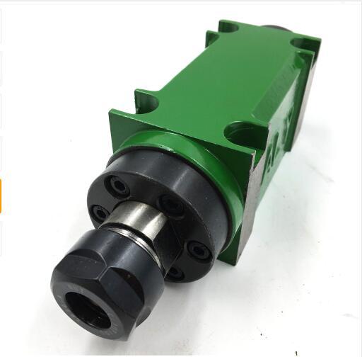 750W 3000 rpm ER20 Power Head Spindle Unit CNC Mechanical