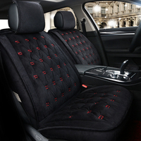 European Winter Seat Covers For Ford Kuga ST Fusion Mustang Cmax Taurus Escape Edge Explorer Embroidery
