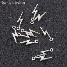 Pingente tibetano para colar, pingente retrô prata iluminada, para fazer joias diy