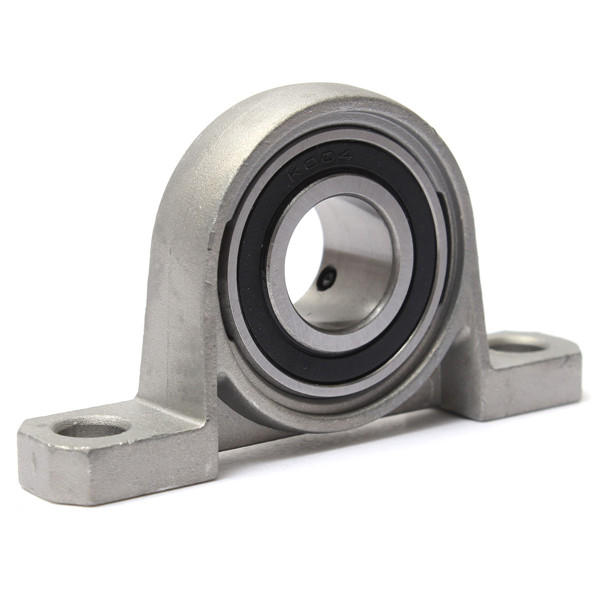 2PCS High quality KP004 Pillow Block Ball Bearing 20mm Zinc Alloy Miniature Bearings Industry Tool 99x21x53mm high quality kfl004 pillow block flange ball bearing 20mm metal miniature bearing zinc alloy mechanical industry
