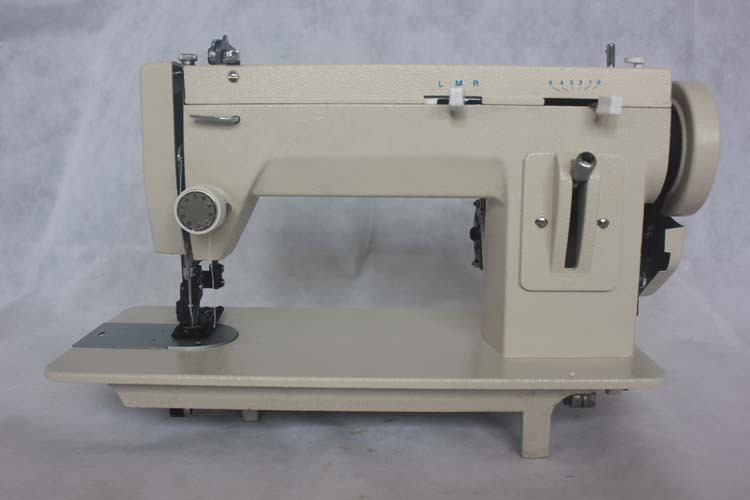 Portable Walking Foot Straight Stitch long arm sewing machine/leather machine