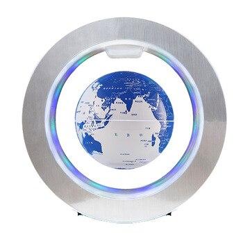 Regali della novit LED Rotondo Galleggiante Globo di Levitazione Magnetica Luce Antigravit idee Lampada bola de