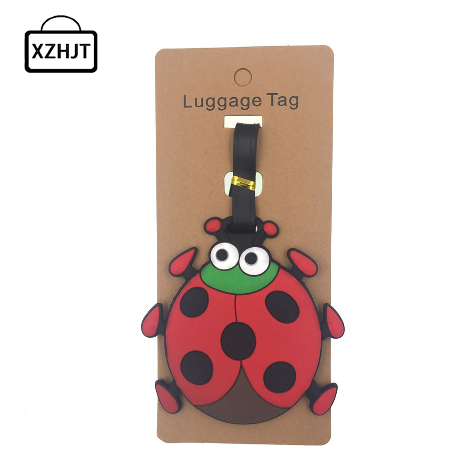 animal-prints-silica-gel-ladybug-luggage-tag-suitcase-id-address-holder-baggage-boarding-tag-portable-label-travel-accessorie