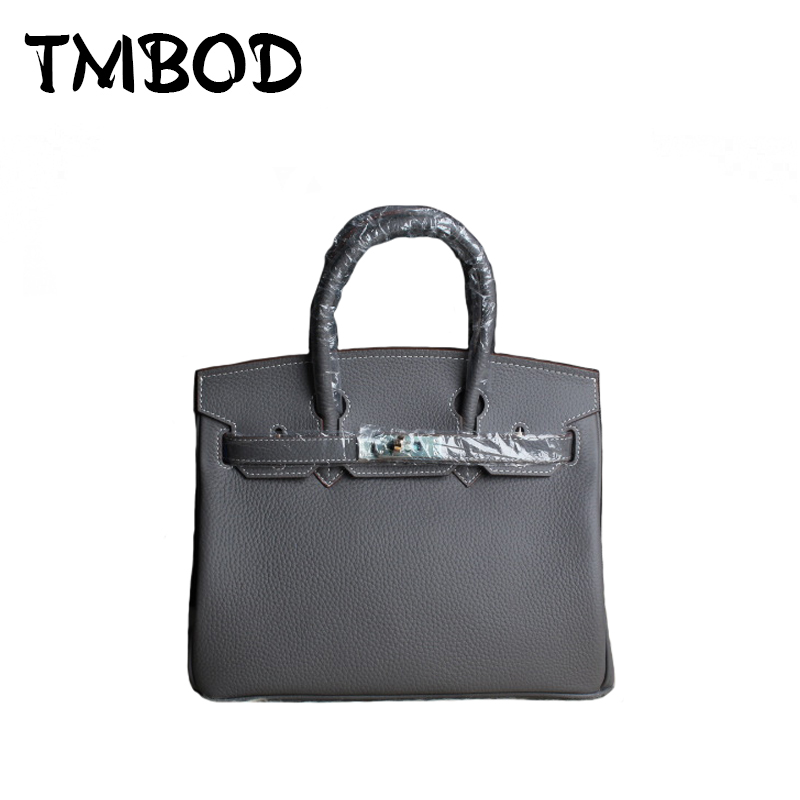 New 2017 3 size Classic Panelled Tote with Lock Women Genuine Leather Handbags Ladies Bag Messenger Bags For Female an831 2017 new classic large tote with lock lady messenger bags genuine leather handbags women shoulder bag for female bolsas qn048