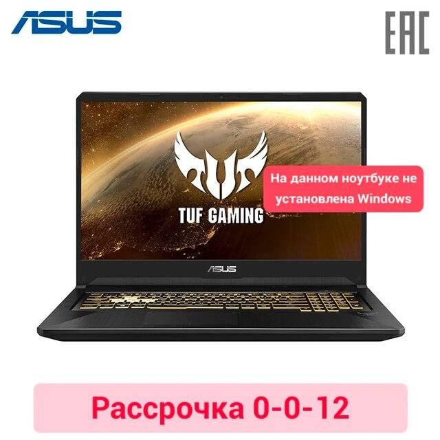 """Игровой ноутбук Asus TUF FX765GD 17.3""""/i5 8300H/8ГБ/256ГБ SSD/No ODD/GTX1050 2ГБ/No OS/Черный (90NR0112-M03950)"""