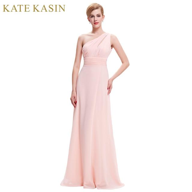 Одно плечо сексуальные вечерние Вечерние платья для Для женщин Abendkleider 2017 Макси Стиль вечернее длинное платье Розовый и красный цвет синий праздничная одежда ST71