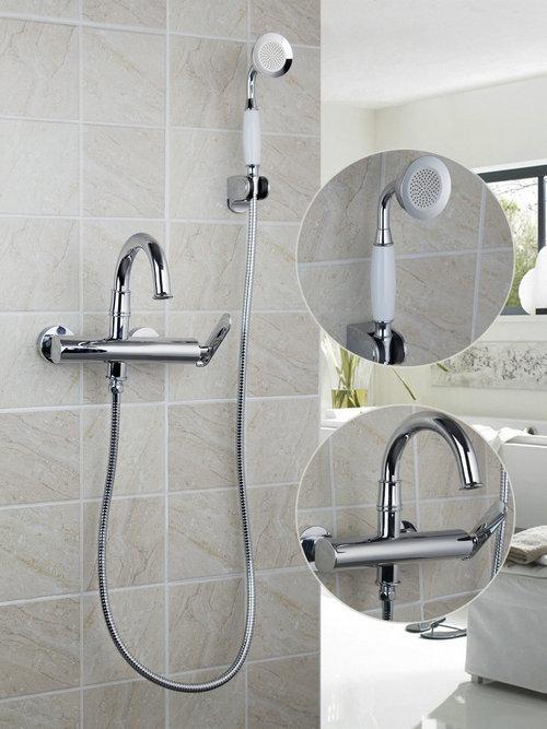Wall Mounted Brass Faucet Spout Filler  Diverter Chrome Bathtub Shower  Faucet Ceramics 97099 Bathroom SinkPopular Bathtub Faucet Diverter Buy Cheap Bathtub Faucet Diverter  . Wall Mount Tub Faucet With Shower Diverter. Home Design Ideas