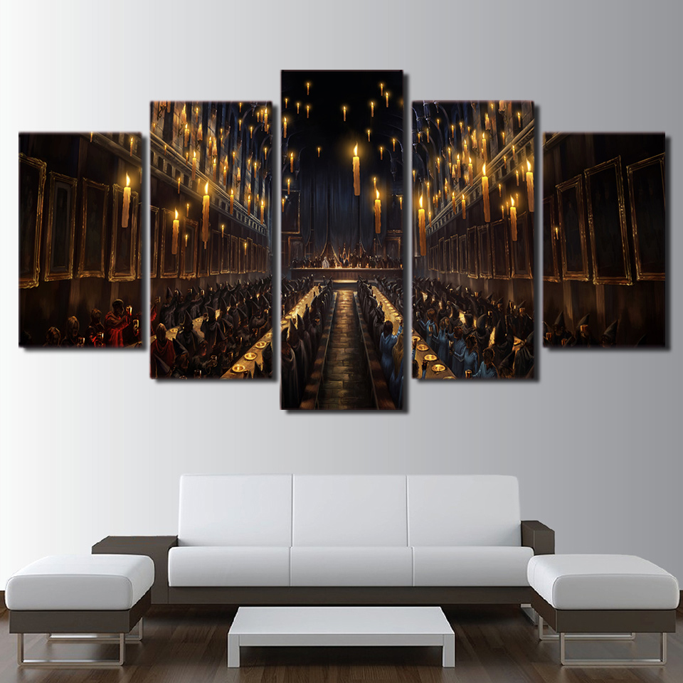Modern Decor Magic Canvas Painting Print Frame Living Room ...