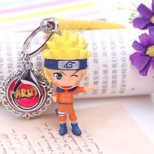 2019 Hot New Naruto Keychain Sasuke/itachi/Kakashi Women Or Men Key Chain Pendant Anime Cartoon Key Ring Boys Or Girls Keychain цена и фото