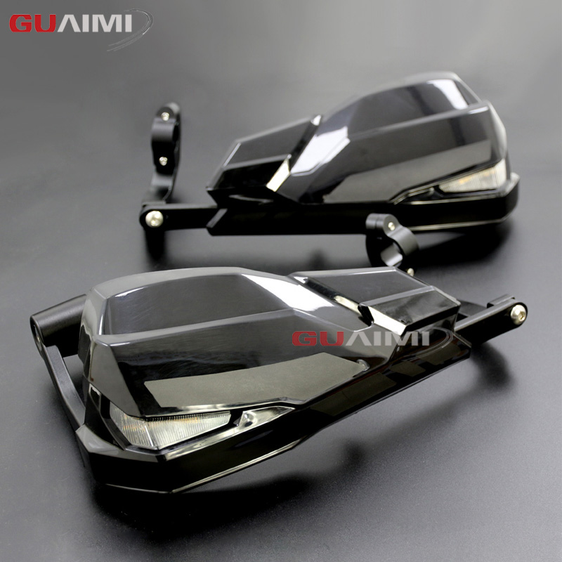NEW LED motorcycle handle wind shield handguards For BMW F800GS R1200GS LC ADV include Signal Lights