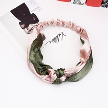 8 сезонов модные повязки на голову винтажные выразительные полосы