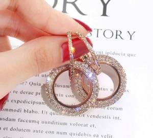Wild-Earrings Crystal Rhinestone Christmas-Gifts 925-Silver Personality Woman From-Austrian