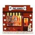 Europa Loja Kit Modelo de Montar Caixa de Quarto Casa de Bonecas Em Miniatura Casa De Bonecas DIY Casa de Brinquedo Artesanal Casa de Sonho Presente Favorito Da Menina