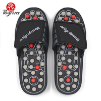 Foot Massager Acupuncture Shoes Health Care Of The Foot Massage Slipper