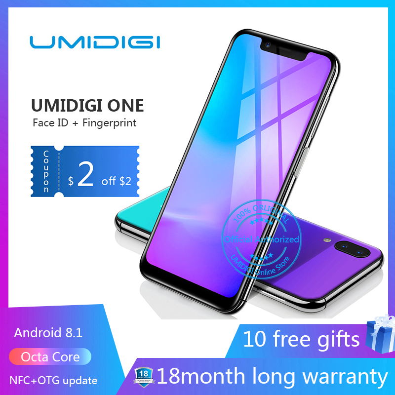 UMIDIGI one Octa Core cell phone 5 9 FHD Full Screen 4G 32GB F 1 7