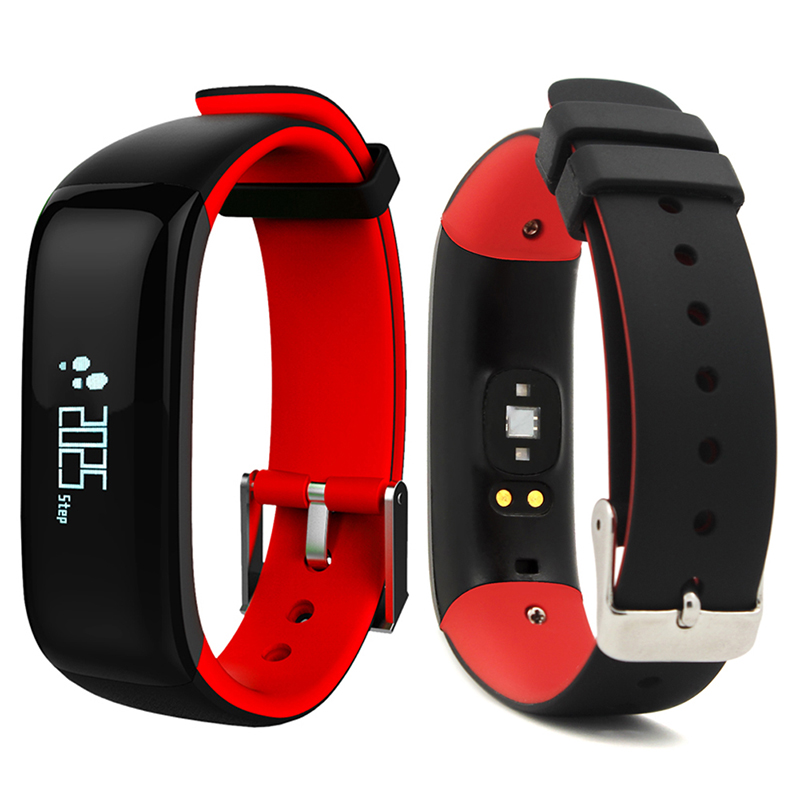 New P1 OLED Smart Watch Bracelet IP67 Waterproof Sports BT Smartwatch Fitness Tracker Wearable Devices For Android iOS For Sport