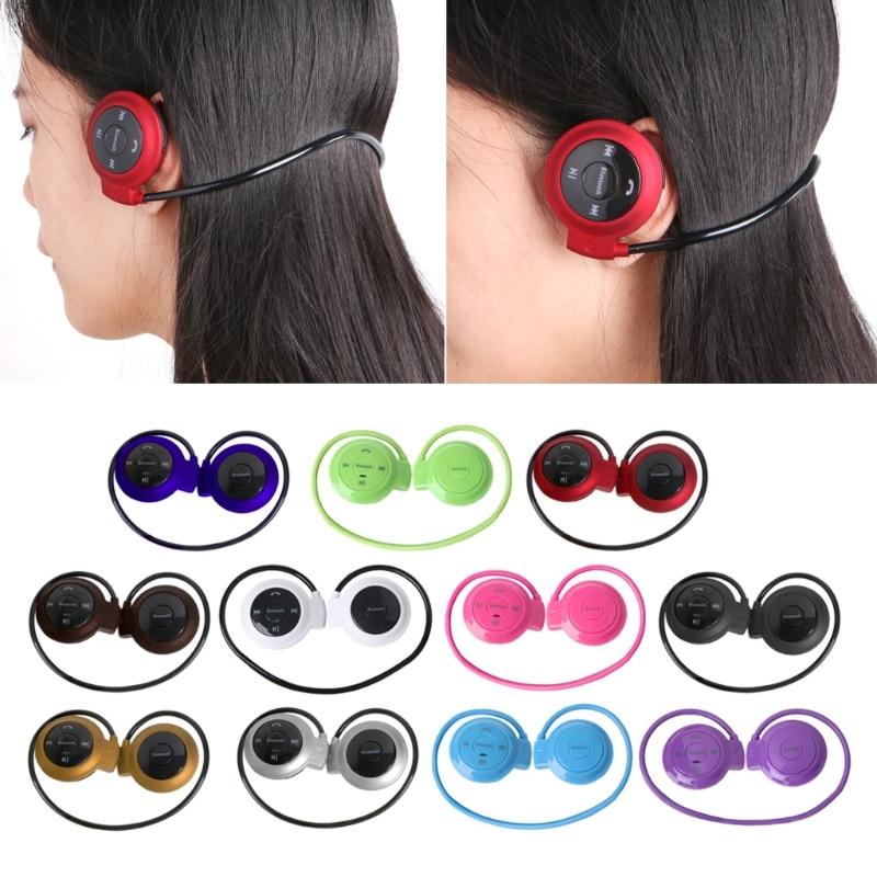 Mini 503 Ear Hook Wireless Bluetooth Headset Sports Headphone TF Slot MP3 Player Earbud Earphone memteq cool on ear lcd foldable headset wireless headphone earphone with fm radio tf card sport mp3 player
