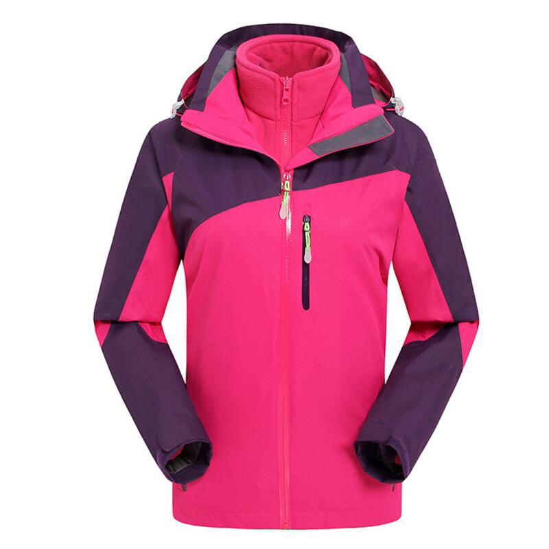 Camping Women's Winter Jacket Outdoor Hiking waterproof Rain Jackets Windproof Coat Tracksuit For Women Softshell Female Jacket sale winter windproof waterproof outdoor jacket men softshell women sportswear warm camping hiking jackets antistatic male coat