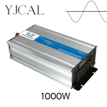 Pure Sine Wave Inverter 1200W Watt DC 12V To AC 220V Home Power Converter Frequency USB Converter Electric Power Supply