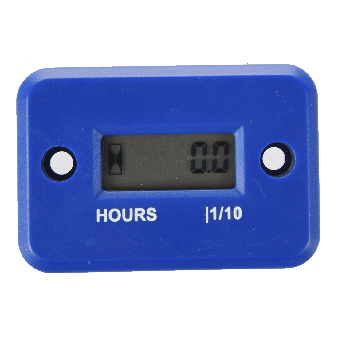 Digital Hour Meter for Motorcycle Bike ATV Snowmobile Boat Ski Dirt Gas Engine - Blue