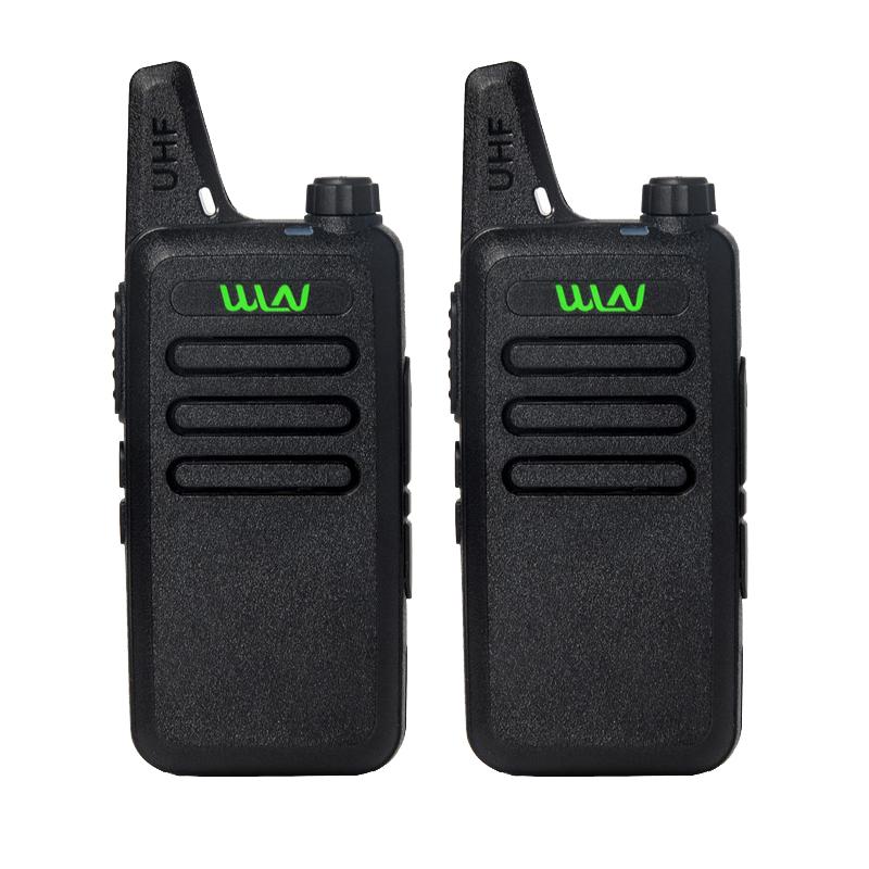 2Pcs-lot-WLN-KD-C1-UHF-400-470-MHz-Black-handheld-transceiver-cb-radio-mini-radio