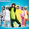 Cosplay Party Costumes Adult Onesies Women Men All In One Pajamas Sleepwear Jumpsuit Dinosaur Pokemon Pikachu Cat Bear