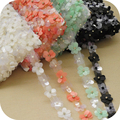 New 5colors Garment accessories beads sequins color light piece of DIY garment accessories Length 2yard, Width 2.5cm