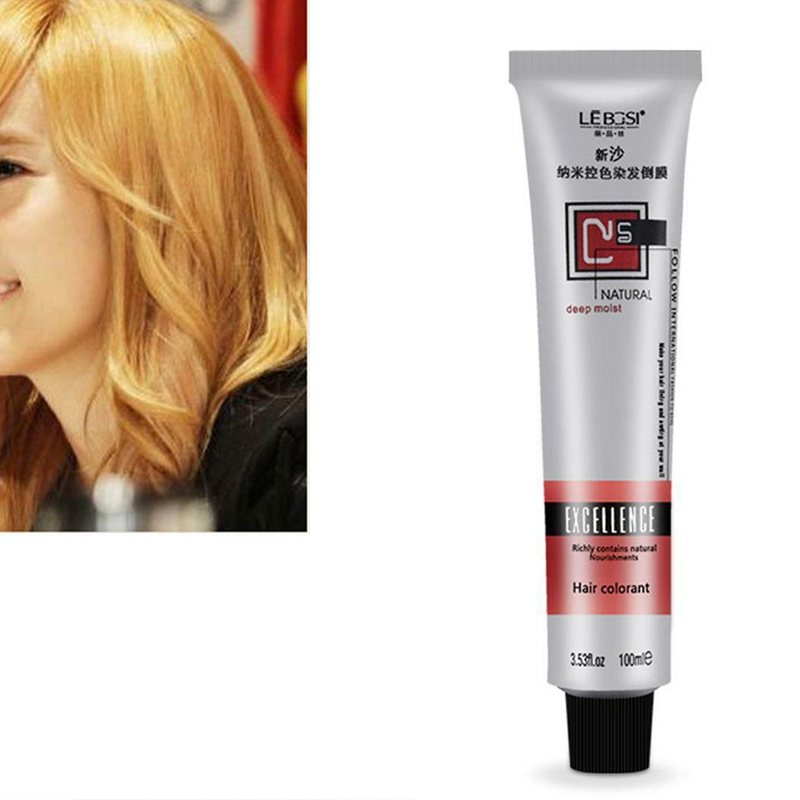 1 Pcs Hair Tint Colorant Semi Permanent Long Lasing Hair Cream Color Dye Paint 789 image