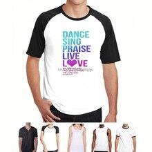 Christian T-Shirt Dance Sing Praise – Psalm 104 S-6XL