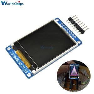 "Image 1 - 1.8 ""นิ้วเต็ม 128x160 SPI FullจอแสดงผลTFT LCDโมดูลST7735S 3.3Vเปลี่ยนOLEDแหล่งจ่ายไฟสำหรับArduino DIY KIT"