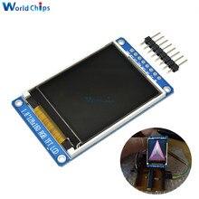 """1.8 """"אינץ מלא צבע 128x160 SPI מלא צבע TFT LCD תצוגת מודול ST7735S 3.3V להחליף OLED אספקת חשמל לarduino DIY קיט"""