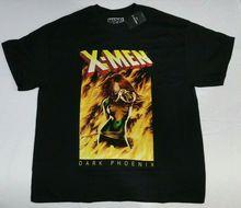 Jean Grey Dark Phoenix T-shirt Xmen Marvel Comics Mens T-Shirt S M L Men 2019 Summer Round Neck Men'S T Shirt цена 2017