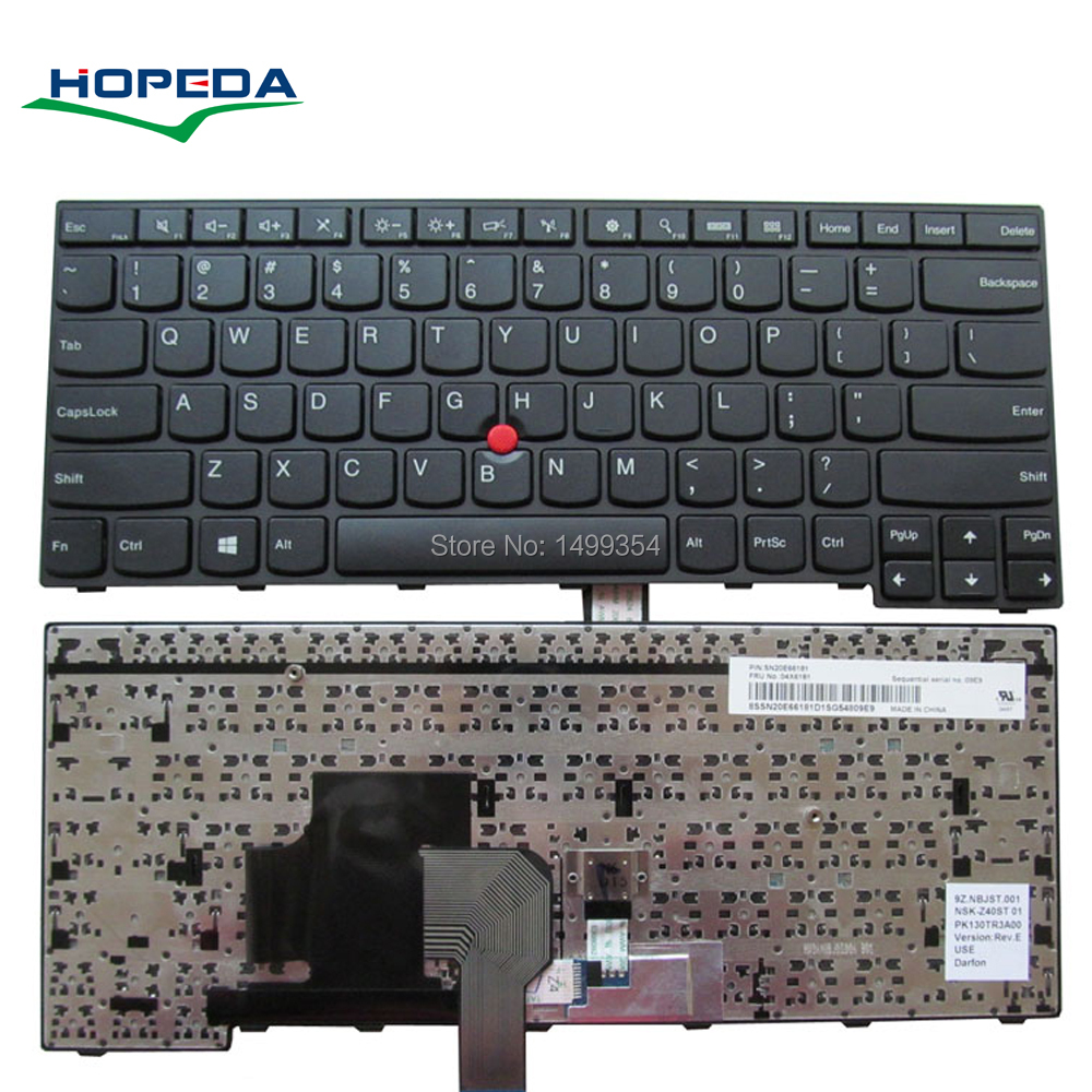 New Laptop <font><b>Keyboard</b></font> For <font><b>Lenovo</b></font> IBM <font><b>Thinkpad</b></font> <font><b>E450</b></font> E455 E450C W450 E460 E465 <font><b>Keyboard</b></font> <font><b>Replacement</b></font> image