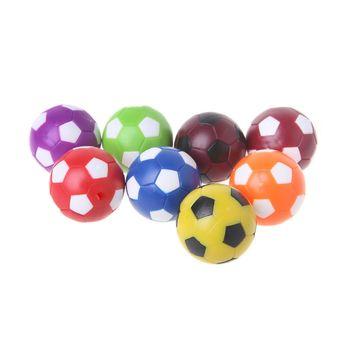2 sztuk 36mm tabela PIŁKA NOŻNA Fussball gra do gry wewnątrz do piłkarzyków piłka nożna części do maszyn do tabeli piłka nożna piłka tanie i dobre opinie OOTDTY CN (pochodzenie) Mini stół piłkarzyki Table Football Ball
