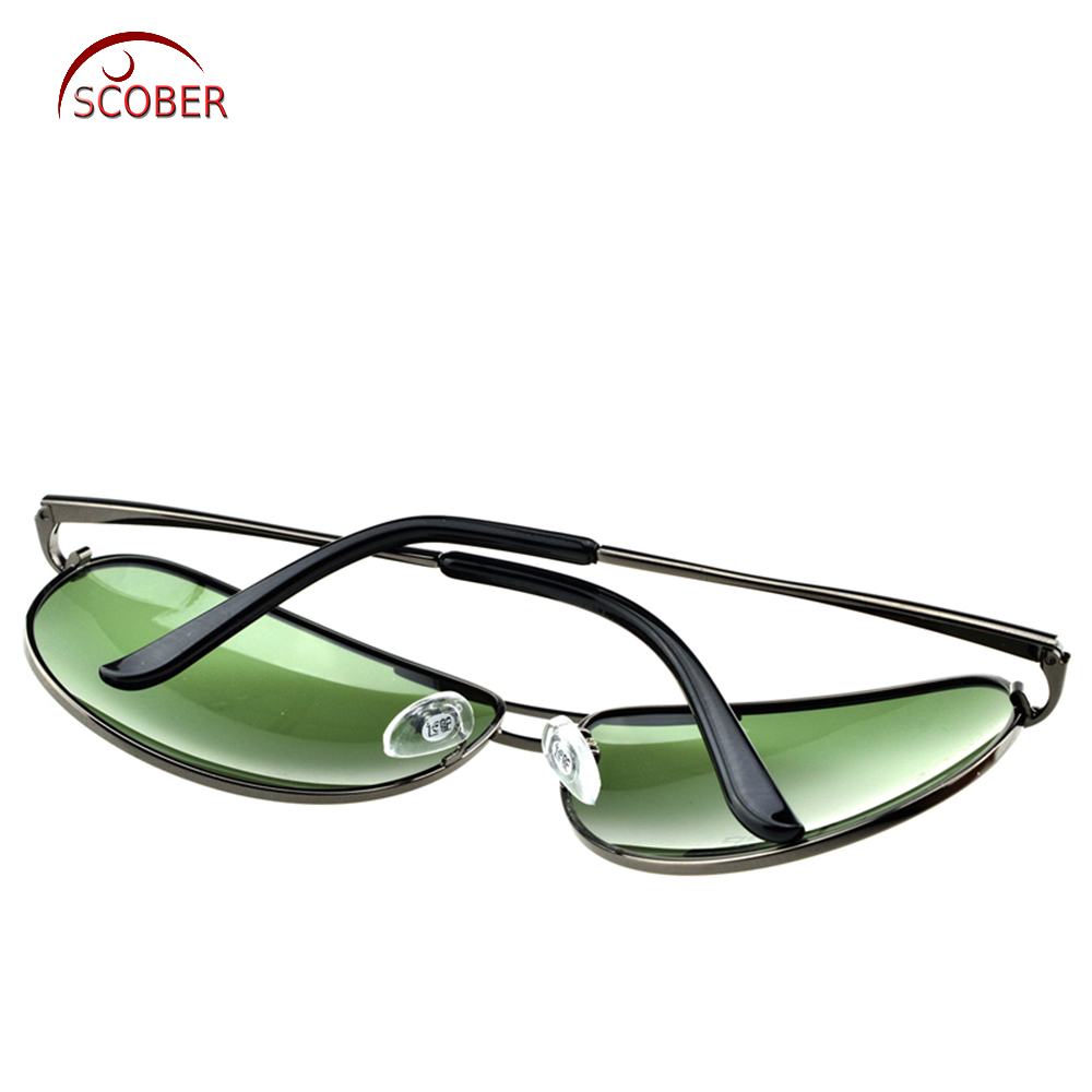 = SCOBER = Pereka Besar Gelintar Kuil Gelombang Hitam Pereka Kacamata - Aksesori pakaian - Foto 6