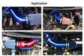Tubo de Borracha Tubo de Admissão de Alumínio 76 MM Calibre de Ar do automóvel