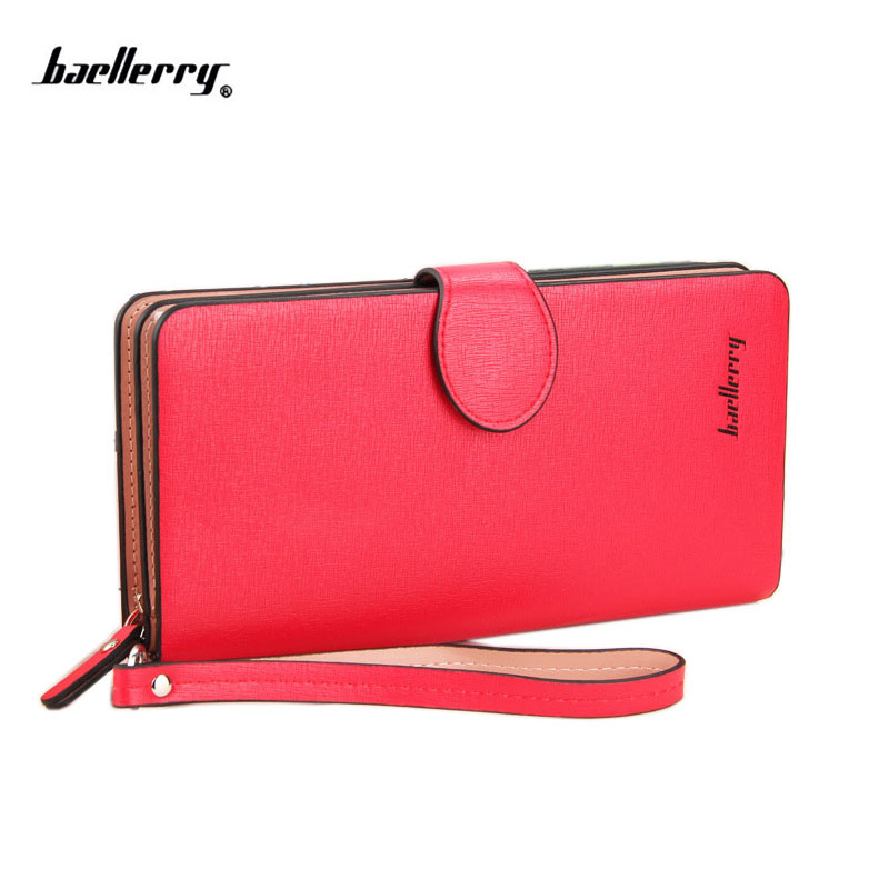 2018 Hot Sale Fashion Women Wallets Matte PU Leather Zipper Soft Wallet Ladies Long Clutch Purse phone bag Card Holder simline fashion genuine leather real cowhide women lady short slim wallet wallets purse card holder zipper coin pocket ladies