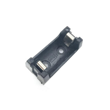 1Pcs/lot THM 3.6V 1/2AA 14250 Battery Box Case Plastic Holder With PCB Pin For Soldering image
