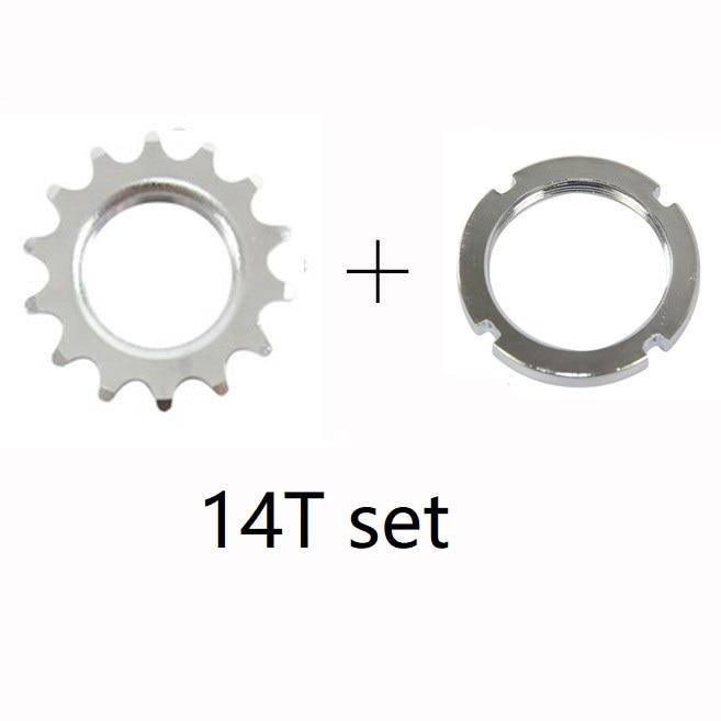 "SINGLE SPEED Steel fixie Wide-Base track Cog 14t x 3//32/"" 3//32/"" x 14T w//lock ring"