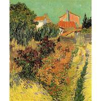 Сад за дом Винсента Ван Гога искусства картины маслом холст воспроизведение ручная роспись