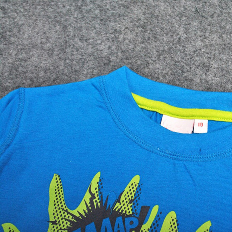 Boys Long Sleeve Tops 2018 Brand Autumn Clothing Baby Boy Sweatshirts Cartoon Children T shirts for Kids Boys Clothes