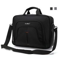 Large Capacity 15.6 Inch Laptop Handbag Protective Case Notebook Cover Briefcase Men Traveler Messenger Shoulder Bag for Macbook