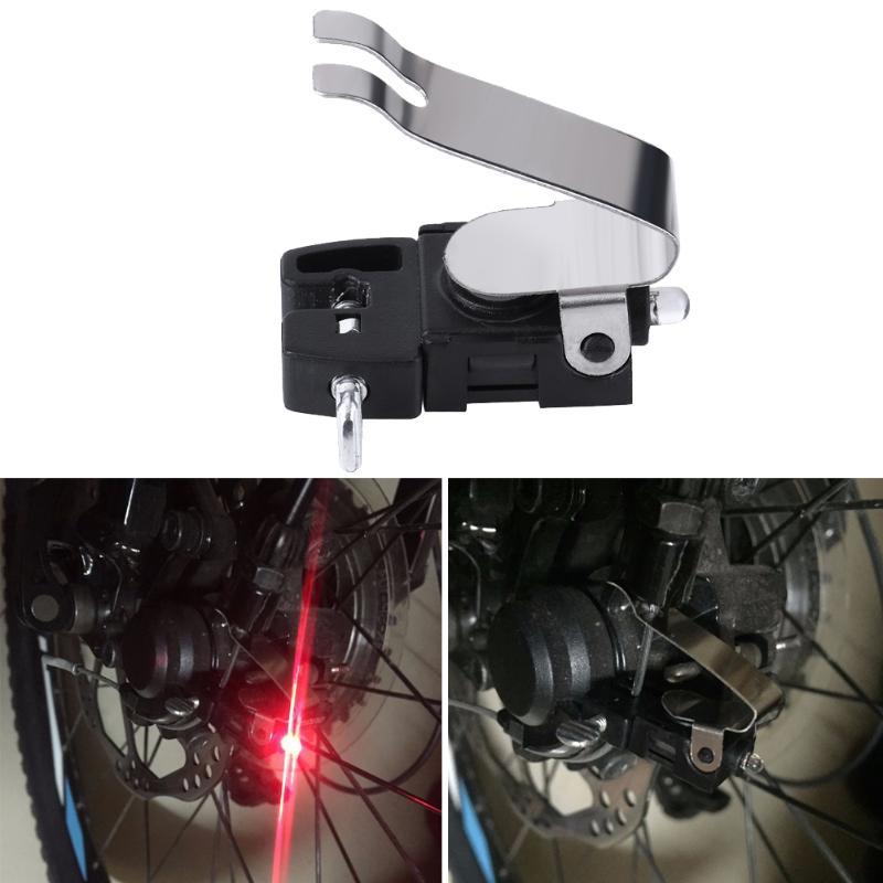 MTB Bike Brake Light Safety Bike Warning LED Light Lamp Waterproof for V Brake