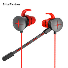 Stereo Gaming Earphone Headset with Detachable Mic Casque Audifonos Gamer PC Computador Earbud for Phone Laptop Desktop Computer