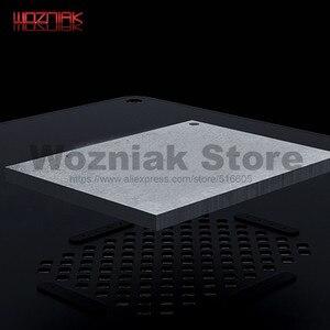 Image 4 - Qianli 3D Tin Planten Template Voor Iphone A7 A8 A9 A10 A11 Cpu Lettertype Bovenste En Onderste Niveaus Onderhoud Mesh zwart Staal Netto