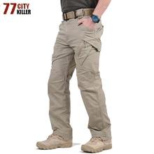 Tactical Pants Army Military Style Cargo Pants Men IX9 S-5XL