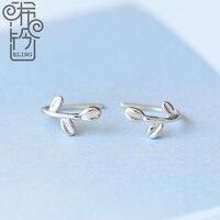 Short Mini Earring 925 Pure Tremella Nail Anti Allergy Earrings Ear Clip Simple Korean Female
